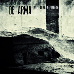 "De Arma - ""Lost, Alien & Forlorn"" CD cover image"