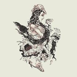 "Deafheaven - ""Roads To Judah"" CD cover image - Click to read review"
