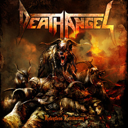 "Death Angel - ""Relentless Retribution"" CD cover image - Click to read review"