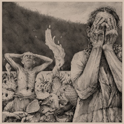 "Deathspell Omega - ""Drought"" CD/EP cover image - Click to read review"