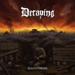 "Decaying - ""Encirclement"" CD cover image"