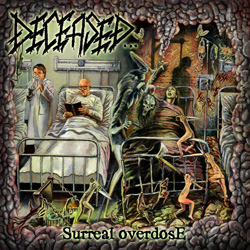 "Deceased - ""Surreal Overdose"" CD cover image - Click to read review"