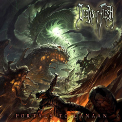 "Deeds of Flesh - ""Portal to Canaan"" CD cover image - Click to read review"
