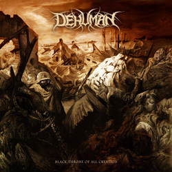 "Dehuman - ""Black Throne of all Creation"" CD cover image"