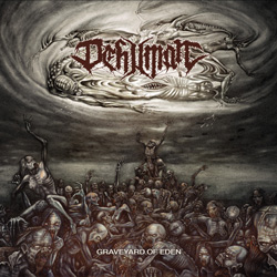 "Dehuman - ""Graveyard of Eden"" CD cover image"