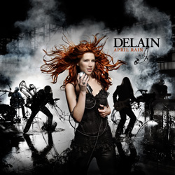 "Delain - ""April Rain"" CD cover image - Click to read review"