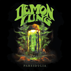 "Demon Lung - ""Pareidolia"" CD/EP cover image"
