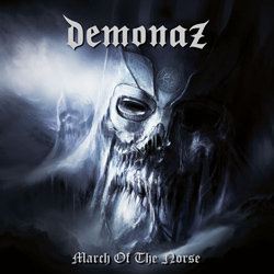 "Demonaz - ""March of the Norse"" CD cover image - Click to read review"