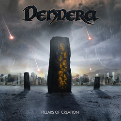 "Dendera - ""Pillars Of Creation"" CD cover image - Click to read review"