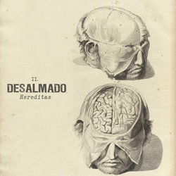 "Desalmado - ""Hereditas"" CD/EP cover image - Click to read review"