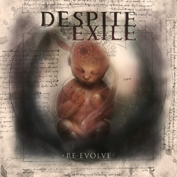 "Despite Exile - ""Re-Evolve"" CD/EP cover image - Click to read review"