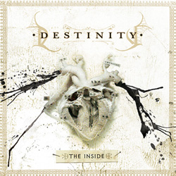"Destinity - ""The Inside"" CD cover image - Click to read review"