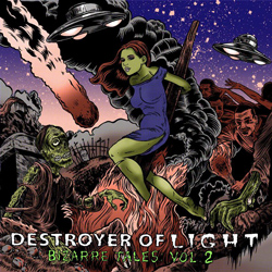 "Destroyer of Light - ""Bizarre Tales: Vol 2"" CD/EP cover image"