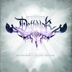 "Dethklok - ""Dethklok: The Dethalbum II (deluxe edition)"" CD cover image - Click to read review"