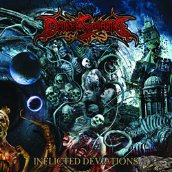 "Deviant Syndrome - ""Inflicted Deviations"" CD cover image - Click to read review"