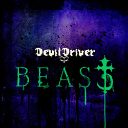 "Devildriver - ""Beast"" CD cover image - Click to read review"