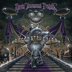 "Devin Townsend Project - ""Deconstruction"" CD cover image - Click to read review"
