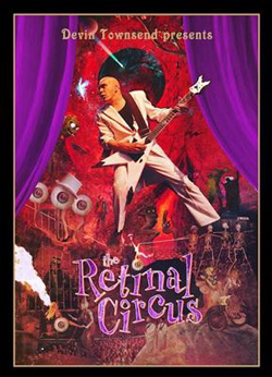 "Devin Townsend Project - ""Retinal Circus"" Blu-ray cover image - Click to read review"