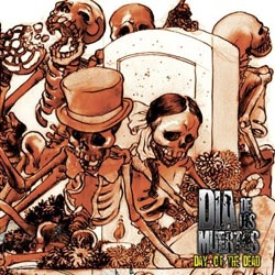 "Dia De Los Muertos - ""Day of the Dead"" CD/EP cover image"
