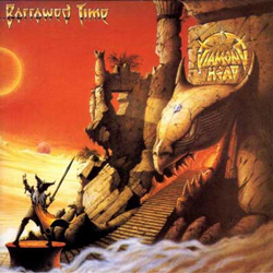"Diamond Head - ""Borrowed Time (reissue)"" CD cover image"