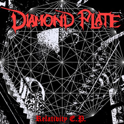 "Diamond Plate - ""Relativity"" CD/EP cover image - Click to read review"