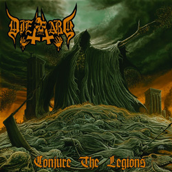 "Die Hard - ""Conjure the Legions"" CD cover image - Click to read review"