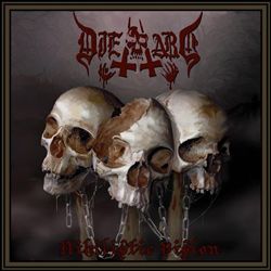 "Die Hard - ""Nihilistic Vision "" CD cover image - Click to read review"