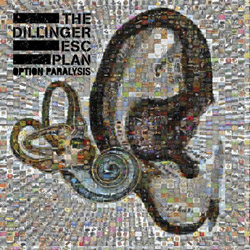 "The Dillinger Escape Plan - ""Option Paralysis"" CD cover image - Click to read review"