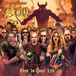 "Dio - ""Ronnie James Dio This Is Your Life"" CD cover image - Click to read review"