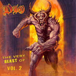 "Dio - ""The Very Beast of Dio, Vol. 2"" CD cover image"
