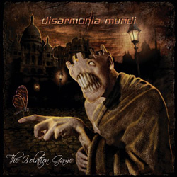 "Disarmonia Mundi - ""The Isolation Game"" CD cover image"
