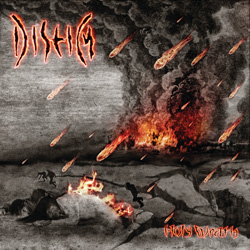 "Diseim - ""Holy Wrath"" CD cover image"