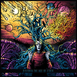 "Disforia - ""The Age Of Ether"" CD cover image"
