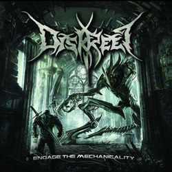 "Diskreet - ""Engage the Mechanicality"" CD cover image - Click to read review"