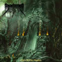 "Disma - ""Towards the Megalith"" CD cover image - Click to read review"