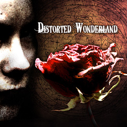 "Distorted Wonderland - ""Distorted Wonderland"" CD cover image"