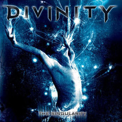 "Divinity - ""The Singularity"" CD cover image"