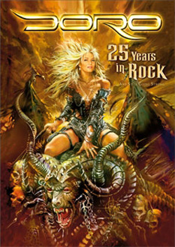 "Doro - ""25 Years In Rock"" DVD cover image"