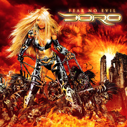 "Doro - ""Fear No Evil"" CD cover image"