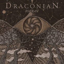 "Draconian - ""Sovran"" CD cover image"