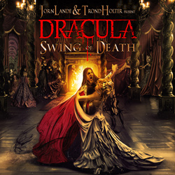 "Jorn Lande & Trond Holter Present Dracula - ""Swing Of Death"" CD cover image"