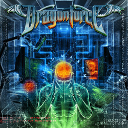 "Dragonforce - ""Maximum Overload"" CD cover image - Click to read review"