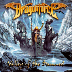 "Dragonforce - ""Valley of the Damned (reissue)"" CD cover image - Click to read review"