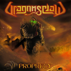 "Dragonsclaw - ""Prophecy"" CD cover image - Click to read review"