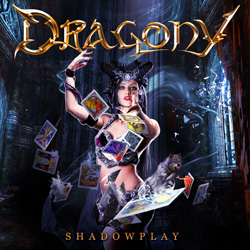 "Dragony - ""Shadowplay"" CD cover image - Click to read review"