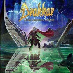 "Drakkar - ""When Lightning Strikes"" CD cover image"