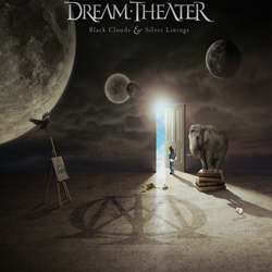 "Dream Theater - ""Black Clouds and Silver Linings"" CD cover image - Click to read review"