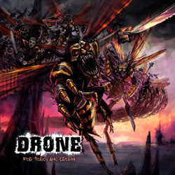 "Drone - ""For Torch And Crown"" CD cover image"