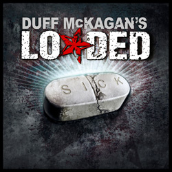 "Duff McKagan's Loaded - ""Sick"" CD cover image - Click to read review"