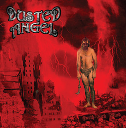 "Dusted Angel - ""Earth Sick Mind"" CD cover image"